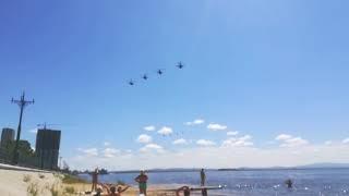 Армейская авиация готовится к празднику столетия округа в Хабаровске