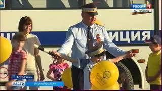 Более двухсот автомобилистов приняли участие во флешмобе ГИБДД