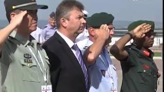 Участники чемпионата мира по плаванию среди военнослужащих почтили в Самаре память погибших солдат