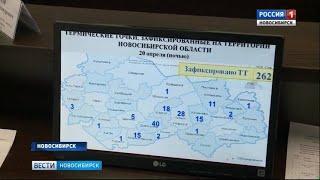 Пожарная обстановка в Новосибирской области близка к критическо