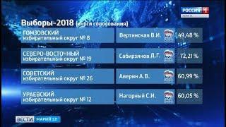В Марий Эл подвели итоги выборов депутатов Государственного собрания