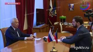 Руководитель региона встретился с главой Федерального агентства по делам национальностей
