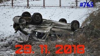 ☭★Подборка Аварий и ДТП/Russia Car Crash Compilation/#745/November 2018/#дтп#авария
