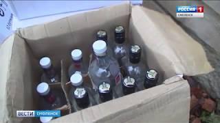 Смоленские полицейские задержали подпольного бутлегера