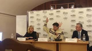 Фрагмент пресс-конференции Дениса Мацуева в Тюмени