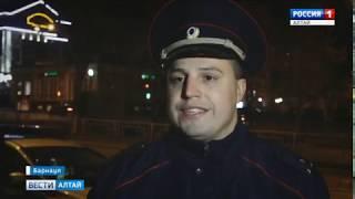 Инспекторы ДПС усилили ночное дежурство на проспекте Ленина в Барнауле
