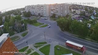 ДТП Петрозаводск 15.07.2018 Авария с переворотом
