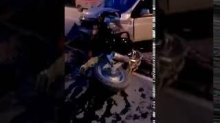 При ДТП В Южно-Сахалинске пострадал мотоциклист