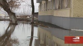 Нерукотворный водоём в посёлке ТЭЦ-2