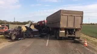 В страшном ДТП в Курской области пострадали 3 человека, 1 погиб