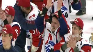 Золотые кадры: как хоккеисты «Локо» праздновали выигрыш Кубка Харламова