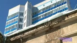 Ярославцы продолжают получать травмы из-за нечищеных крыш