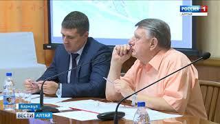 В Барнауле продолжится благоустройство набережной и Нагорного парка