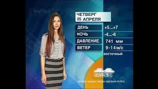 Прогноз погоды от Анны Чардымской на 6,7,8 апреля