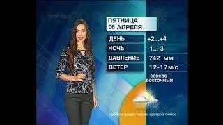 Прогноз погоды на 7,8,9 апреля