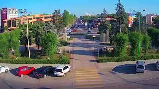 ДТП (авария г. Волжский) пл. Свердлова вид на проспект 29-06-2018 17-50