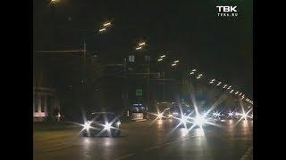 сотрудники ЦСМ проверили освещение на проспекте Мира