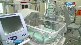 В Смоленском перинатальном центре родился первый малыш