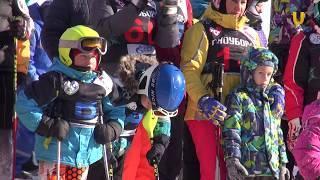 UTV. Встать на лыжи в 60  В Уфе соревновались любители и ветераны горнолыжники