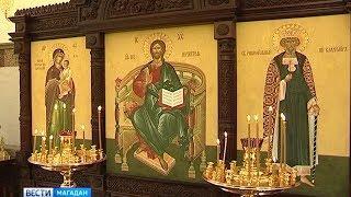 Новую часовню освятили в Магадане