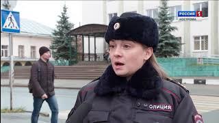 Костромские автоинспекторы усилили патрулирование подъездов к мосту через Волгу