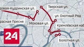 Пол-Москвы перекроют из-за очередной репетиции парада - Россия 24