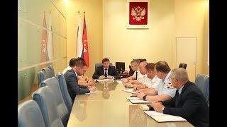 Губернатор Андрей Бочаров провел рабочее совещание по вопросам обеспечения правопорядка в регионе
