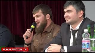 Абдул-Керим Эдилов встретился с учащимися Центра образования имени Ахмат-Хаджи Кадырова