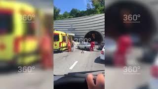 ДТП с участием двух машин случилось в Сочи