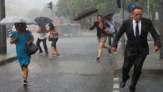 Июнь в Европе: жара и наводнения