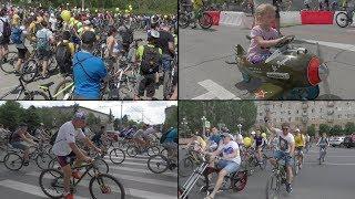 Вперед и с песней: волгоградский велопарад впервые собрал 2000 участников