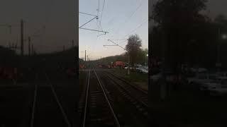 Чп на железнодорожном переезде  / часть первая