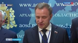 Виктор Новожилов сложил полномочия председателя Парламентской Ассоциации Северо-Запада России