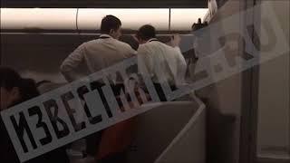 Пьяный пассажир устроил дебош на борту самолета, летевшего в Петропавловск