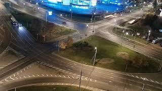 Зеленоград. Первое ДТП с беспилотным такси.