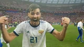 Барнаулец Александр Ерохин - коротко о матче Испания-Россия