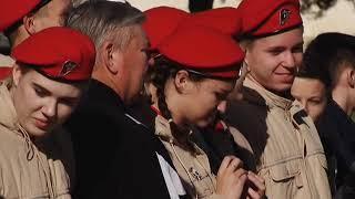Крымские школьники побывали в армии на День призывника