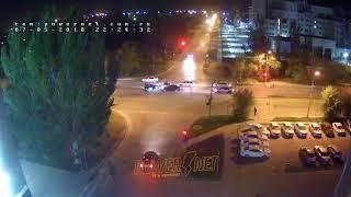 ДТП (авария г. Волжский) ул. Карбышева ул. Молодогвардейцев 07-05-2018 22-24