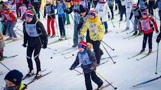 Югорчане пробежали «Лыжню Росии»