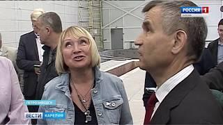 Стройка нового гимнастического центра под контролем зам. секретаря Совбеза