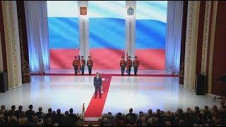 Торжественная церемония вступления в должность губернатора Самарской области Дмитрия Азарова