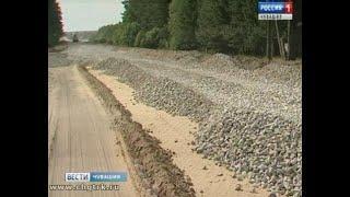 Благодаря федеральной программе в районах республики строят новые дороги