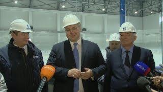 Губернатор Ставрополья осмотрел новый ледовый комплекс