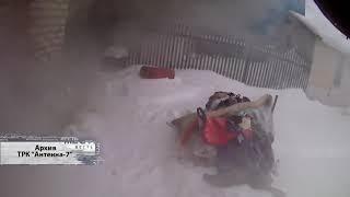 В Черлаке во время пожара погиб ребенок