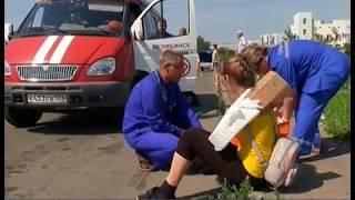 В Челябинске медики вместе со спасателями устроили шок-шоу с пострадавшими
