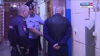 В Смоленске грабитель попал в аварию на чужой машине