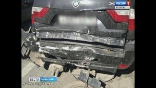 В районе деревни Пихтулино произошла крупная авария с участием  пяти автомобилей