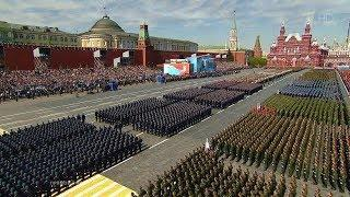 Парад Победы Россия Москва-Симферополь 2018/ Victory Parade Moscow Red Square 2018 LIVE
