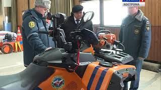Губернатор оценил готовность костромских спасателей к паводку