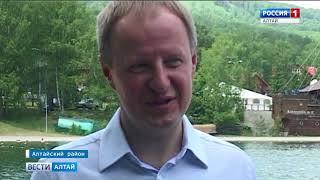 В День России Виктор Томенко вместе с супругой посетил «Бирюзовую Катунь»